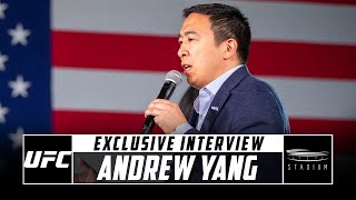 Former 2020 Presidential Candidate Andrew Yang Discusses the UFC | Stadium