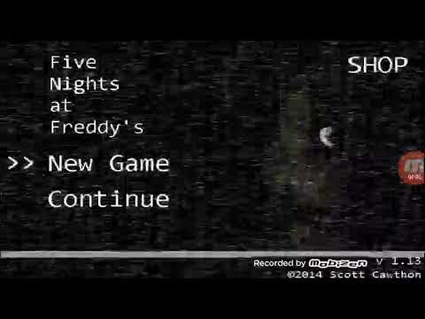 Five Nights at Freddy's l 1 ночь и уже ужас.