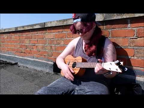 "TheFifthSister - Writing ""North Star"" in the sun"