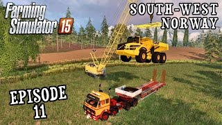 Let's Play Farming Simulator 2015 | South West Norway | Episode 11