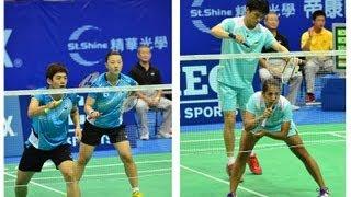 Yonex Chinese Taipei Open 2013 QF XD Lee Yong Dae 李龍大+Shin Seung Chan 申昇瓚(KOR)VS楊潮江+欣達(SIN)