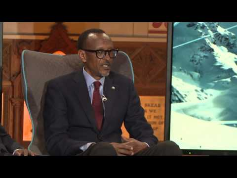 President Kagame speaks at the CNBC Televised session: Building Africa | Davos, 18 January 2017