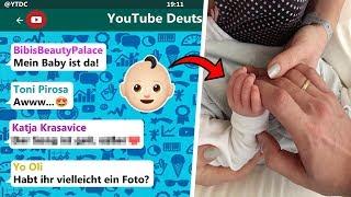 Das Baby ist da! 👶 | YouTuber reagieren auf Bibis Baby