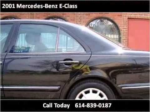 2001 mercedes benz e class used cars columbus oh youtube for Mercedes benz columbus ohio