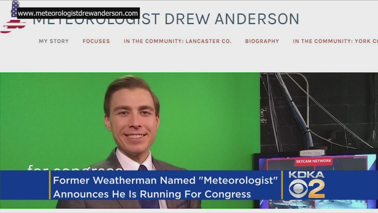 Trying To Change The Political Climate: Pa  Weatherman Changes Name To  Meteorologist, Plans Run For