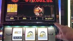 Lucky Ducky Big Win Question Mark Bingo Pattern Red Screens Choctaw Gambling Casino, Durant, OK