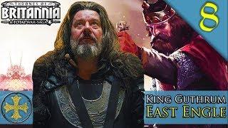 GUTHRUM DESTROYS THE LAST KINGDOM Total War Saga Thrones of Britannia East Engle C aign 8