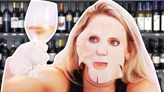9 Beauty Products Made with WINE?! (Beauty Break)