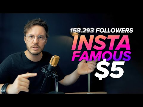 I Paid Fiverr To Make Me Instagram Famous within 24 Hours