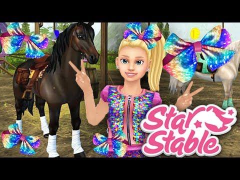 🔴🎀⭐✨Jojo Siwa Bow Hunting + Training & Racing! ✨⭐🎀 | Star Stable Online Live Stream