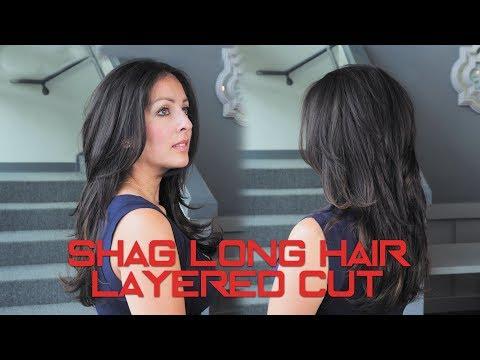 Shag Long Hair Layered Cut | Ericperezsalon.com