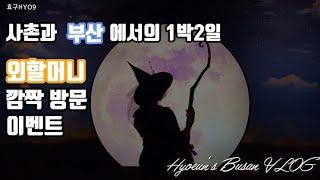 [효구의 일상] 부산 1박2일 VLOG : 마녀의 초대…