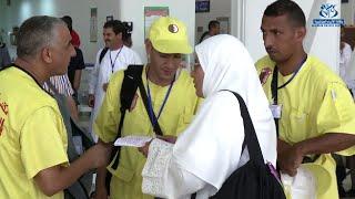 مغادرة أول فوج من الحجاج الجزائريين الى البقاع المقدسة