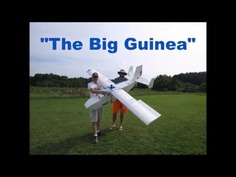 """The """"Big Guinea"""" - Large DTFB RC Cargo Plane - Inspired by FT Guinea Pig"""