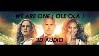 [3D AUDIO] We Are One {2014 World Cup Song} (USE HEADPHONES!!!)