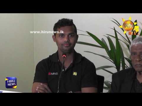 Sri Lanka Team Press Conferance at Katunayaka Airport
