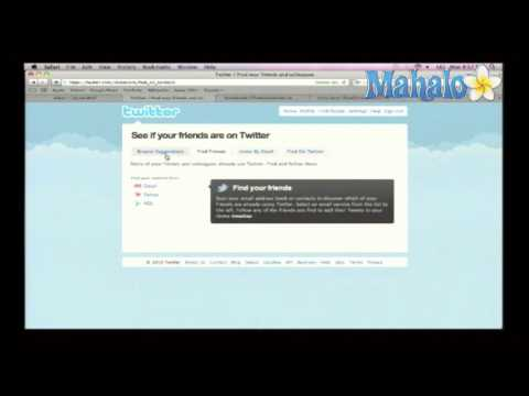 How To Use Twitter Suggestions To Find Friends from YouTube · Duration:  3 minutes 22 seconds