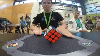 2017 2x2-4x4 Rubik's Cube World Records
