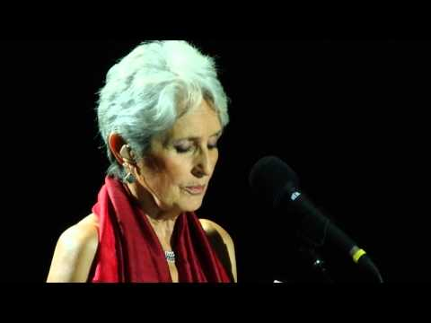 """""""Kiz Cocugu"""" (""""I came and stand at every door"""") - Joan Baez - Istanbul Jazz Festival, 2015-07-01"""