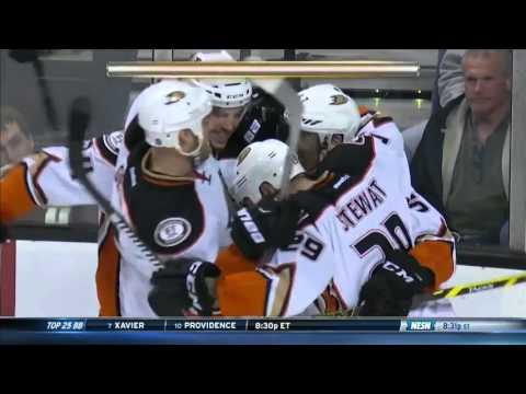 Ducks @ Bruins Highlights 01/26/16