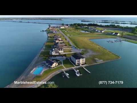 Marblehead Estates and Yacht Club - Marblehead Ohio - Waterfront Condos