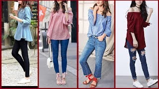 Top New Stylish Tops / Shirts for Girls | Fashion clothes 2017 | new collection of Tops