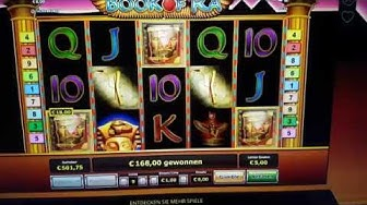 Big Win - Book of Ra 9 € Einsatz Symbol K Jackpot ( Supergaminator )Geldgewinn