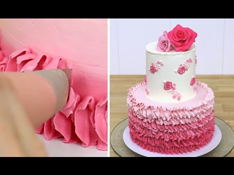 rose-petal-ombre-cake---buttercream-decorating-by-cakesstepbystep