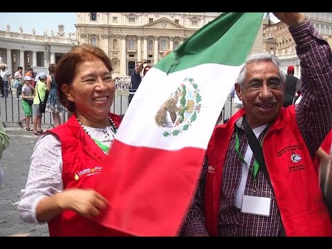 Mexicans from Morelia to Rome to return the pope's visit