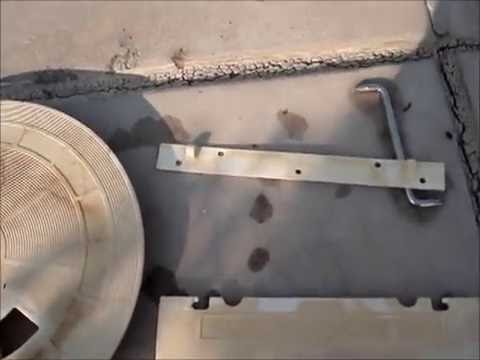 Pentair Skimmer Weir Off the Hinge Plate & Pentair Skimmer Weir Off the Hinge Plate - YouTube