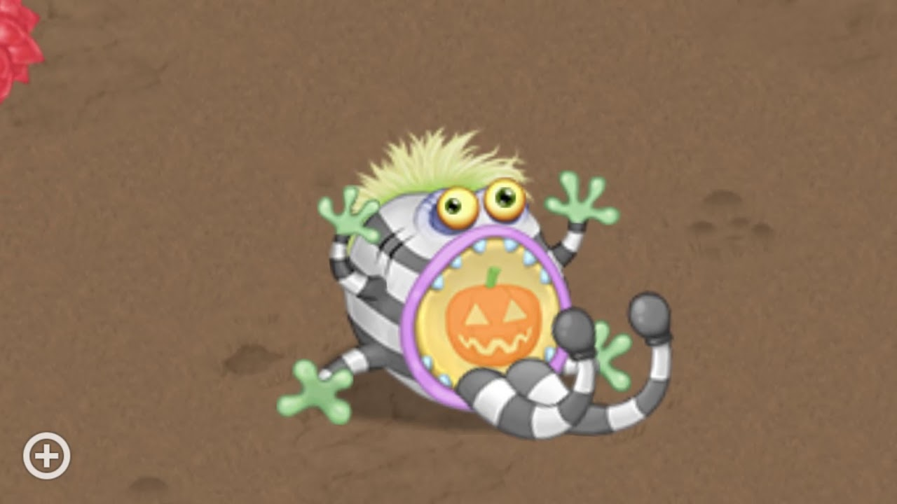Pummel Halloween Costume On Gold Island My Singing Monsters Youtube