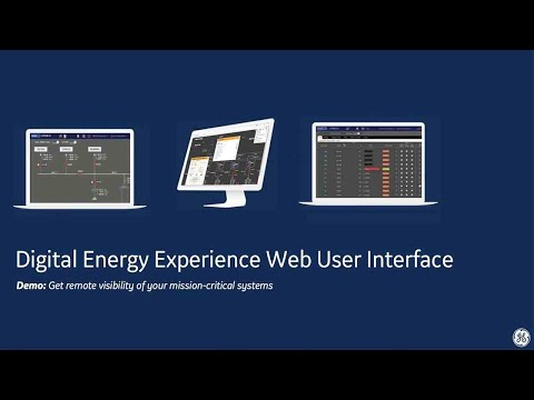 GIX For Advanced Energy Management System displays and Distribution SCADA display