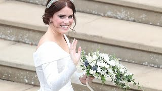 In pictures: Princess Eugenie weds in royal fanfare