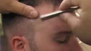 Shave and Shape Up with Eyebrows and a Faux Hawk