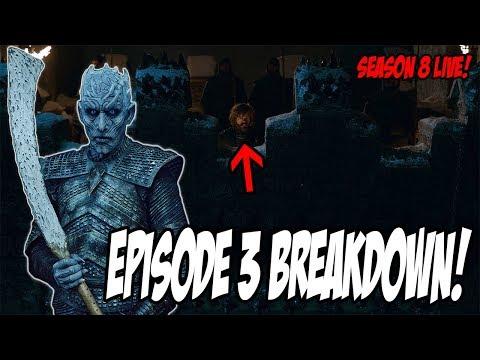 Game Of Thrones Season 8 Episode 3 LIVE Breakdown!
