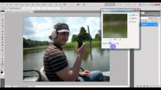 Photoshop Tutorial - Depth of Field Effect (out of focus background) - HOW TO