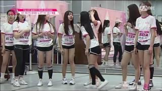 produce 101 season 1 dance battle