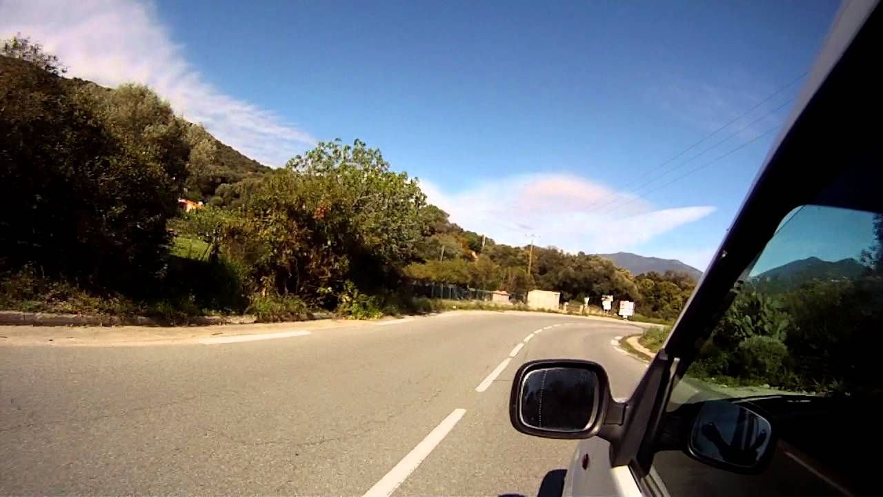 Driving In France Corsica By Car Youtube