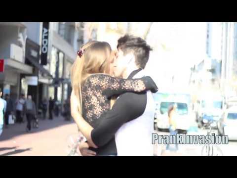 Kissing Stranger Valentines Day (PrankInvasion)
