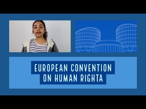 Origins European Convention on Human Rights (ECHR)