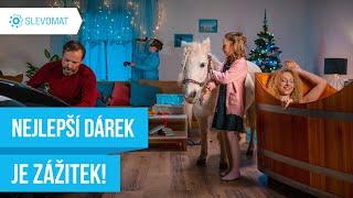 Slevomat.cz – Nejlepší vánoční dárek je zážitek!