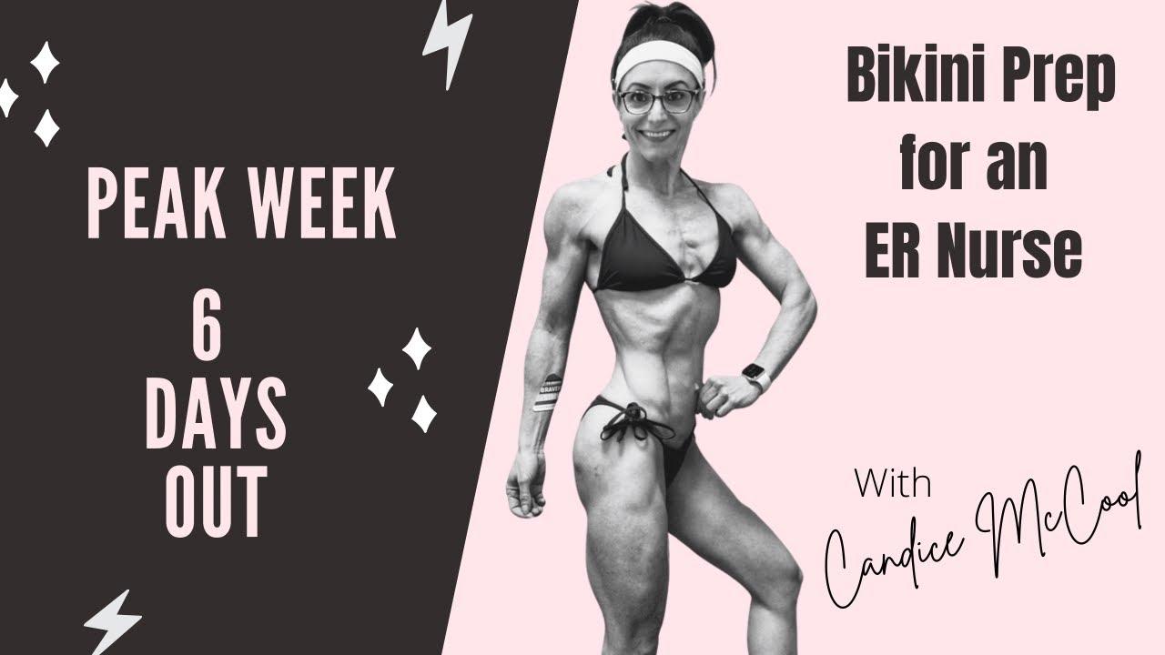 6 Days Out- NPC Bikini Prep | Meal Prep | Physique Check-ins