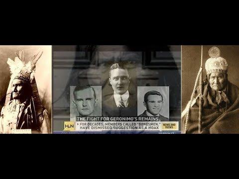 JFK Skull and bones WW1 WW2 Vietnam 911 Geronimo Message