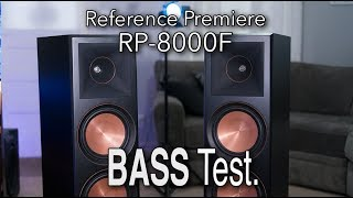 Klipsch RP-8000F Reference Premiere BASS TEST | Bass I love you