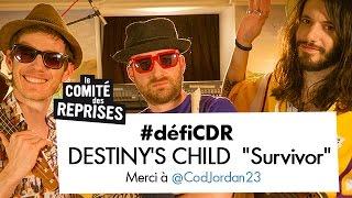 """12e épisode du #défiCDR relevé avec une reprise des Destiny's Child """"Survivor"""" feat CodJordan23. Postez vos défis de reprises avec le hashtag #défiCDR ..."""
