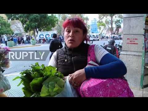 Argentina: Farmers give free vegetables to needy as inflation spirals
