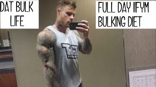 eating to gain muscle naturally bulk full day of eating