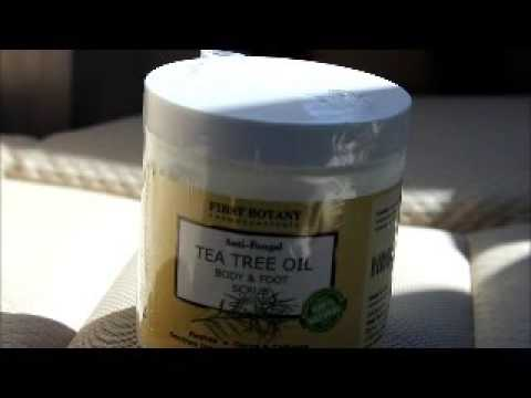 First Botany Cosmeceuticals Anti Fungal Tea Tree Oil Body and Foot Scrub Review