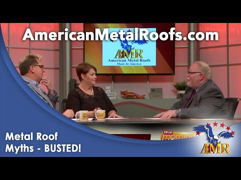 Top Metal Roof Myths - BUSTED - Learn more on FOX47 Morning Blend