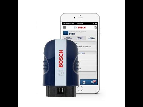 BOSCH 1050 OBD2 II Smartphone Bluetooth Code Reader IOS & Android App!